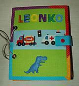 Hračky - predná a zadná strana - chlapčenská - 8003257_