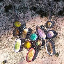 Náhrdelníky - náhrdelník farebnô 1 - 8005020_