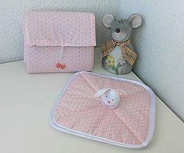 Textil - Prebalovacia podložka a milá hračka k tomu - 8004028_