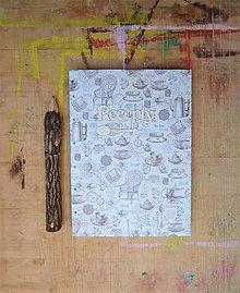 Papiernictvo - Receptár - vintage - 8004018_