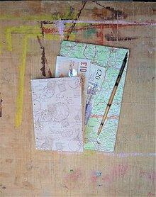 Papiernictvo - Malý cestovateľský zápisník A6 - 8004064_