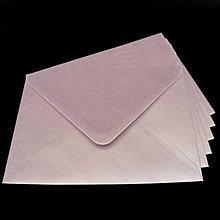 Papier - Obálka C6 - fialková perleťová - 8003588_