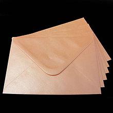 Papier - Obálka C6 - ružová perleťová - 8003598_