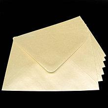 Papier - Obálka C6 - šampanská perleťová - 8003605_