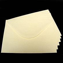 Papier - Obálka C6 - slonovinová - 8003706_