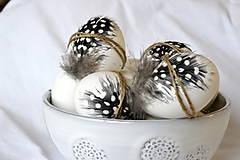 Dekorácie - Veľkonočná kraslica Perlička - 8003780_