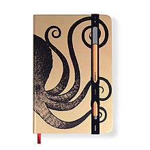Papiernictvo - Zápisník A5 Chobotnica - 8005592_