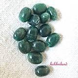 Minerály - Smaragdový avanturín_oválik_10-12 x 6-8 mm - 8005568_