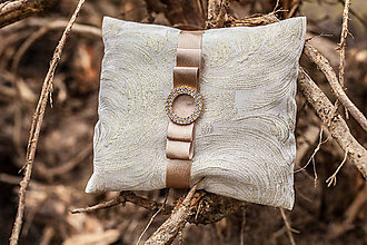 Úžitkový textil - Vankúš pod obrúčky - 8010263_