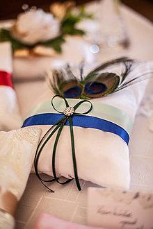 Úžitkový textil - Vankúš pod obrúčky - 8010290_