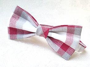 Doplnky - Retro gentleman (red/white/grey) - 8010470_