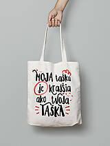 Nákupné tašky - Moja taška je krajšia ako tvoja taška - 8007997_