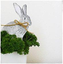 Dekorácie - Dekorácia - zajačik - 8006816_