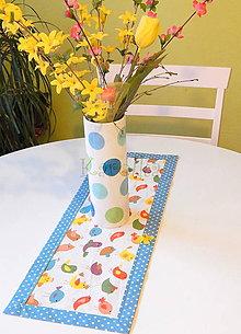 Úžitkový textil - Obrus - Vtáčik - 8009155_