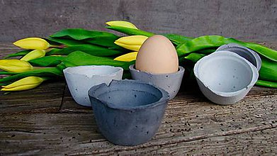 Nádoby - Betónový stojan na vajíčko TOJ - 8007055_