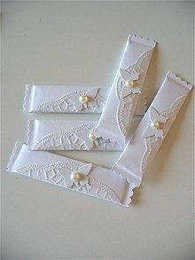 Darčeky pre svadobčanov - snehobiele.... - 8008366_
