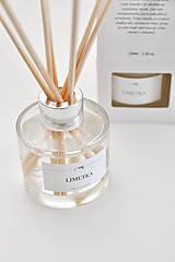 Dekorácie - Vonný difuzér - Limetka - 8009295_