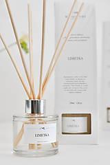 Dekorácie - Vonný difuzér - Limetka - 8009296_