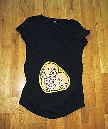 Tehotenské oblečenie - Dvojnásobná radosť :) - 8008479_