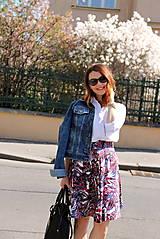 Sukne - Kruhová sukňa - vzorovaná - 8010215_