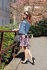 Sukne - Kruhová sukňa - vzorovaná - 8010219_