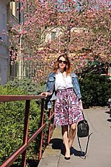 Sukne - Kruhová sukňa - vzorovaná - 8010220_