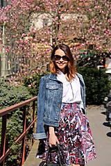 Sukne - Kruhová sukňa - vzorovaná - 8010222_
