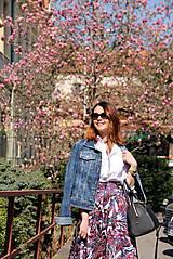 Sukne - Kruhová sukňa - vzorovaná - 8010223_