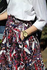 Sukne - Kruhová sukňa - vzorovaná - 8010226_