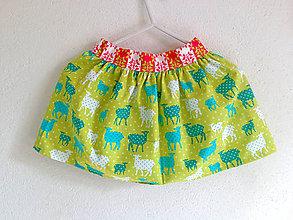 Detské oblečenie - bio suknička