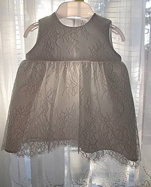Detské oblečenie - Šaty na krst - 8009117_