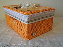 Košíky - Orange box BETKA - 8006710_