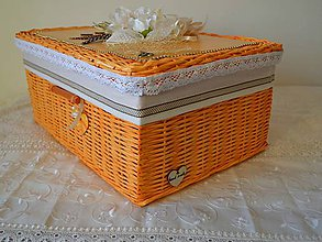 Košíky - Orange box BETKA - 8006710_