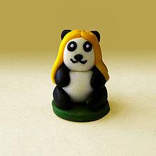 Hračky - Mini panda figúrka (blond) - 8007943_