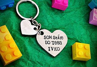 Kľúčenky - SOM STÁLE DO TEBA ... - 8014731_