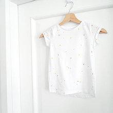 Detské oblečenie - Tričko cukríčkové - 8012061_