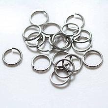 Komponenty - 13,4/2 10ks Světlé - eloxovaný hliník - 8011998_