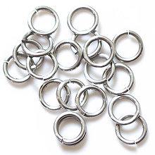 Komponenty - 10/2 10ks Světlé - eloxovaný hliník - 8012013_