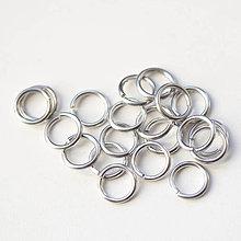 Komponenty - 8,4/1,6 100ks Světlé - eloxovaný hliník - 8012032_