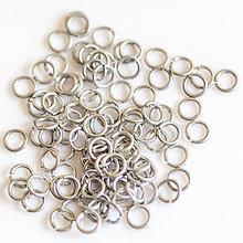 Komponenty - 3,38/0,8 100ks Světlé - eloxovaný hliník - 8012066_
