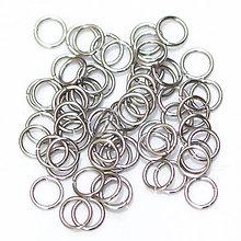 Komponenty - 5,8/1,0 100ks Světlé - eloxovaný hliník - 8012376_