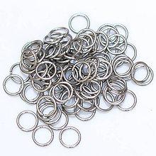 Komponenty - 6,6/1,0 100ks Světlé - eloxovaný hliník - 8012380_