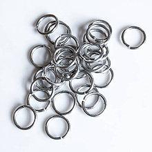 Komponenty - 8,2/1,2 100ks Světlé - eloxovaný hliník - 8012391_
