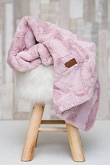Textil - Detská deka 100x75cm HIDE Rose Water - 8014700_