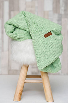 Textil - Detská deka 100x75cm CHENILLE Nile - 8014725_