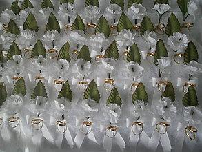 Pierka - Svadobné pierka pre hostí