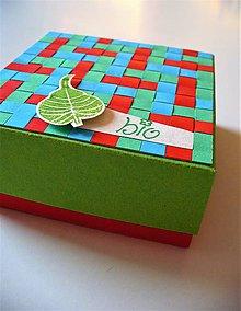 Krabičky - krabička na bio produkt - 8013313_