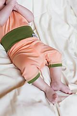 Detské oblečenie - Capri kojenecké 100% LETNÍ merino : 62-68/74 - 8013177_
