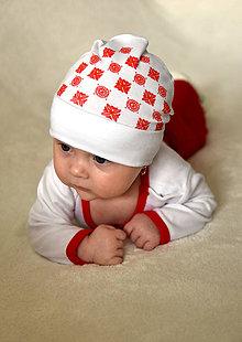 Detské čiapky - Čiapočka Detva - 8014697_
