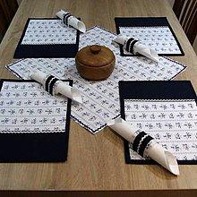 Úžitkový textil - Folklór v kuchyni(2) - obrus štvorec 48x48 - 8013665_